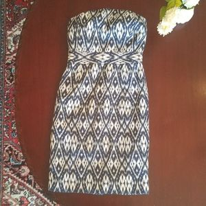 BANANA REPUBLIC Strapless Midi Dress Size 2